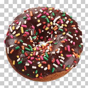 Donuts Sprinkles Chocolate Brownie Frosting & Icing Bakery PNG