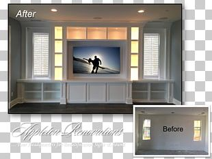 Entertainment Centers & TV Stands Shelf Furniture Home Theater Systems Window PNG