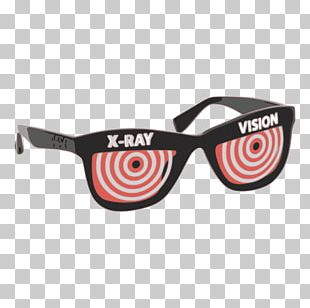 Goggles Sunglasses X-ray Vision Designer PNG
