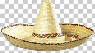 Sombrero Straw Hat Mexican Hat Headgear PNG