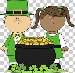 T.R.E.E. House Ireland Saint Patricks Day Paper PNG