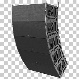 Line Array Loudspeaker Enclosure Audio Sound Reinforcement System PNG