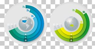 Circle Infographic Chart PNG