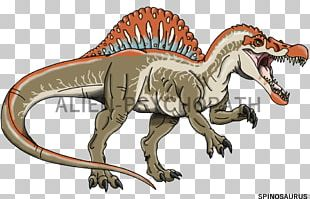 Spinosaurus Tyrannosaurus YouTube Jurassic Park Drawing PNG