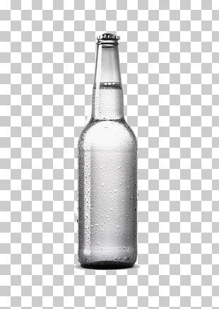 Beer Bottle Mockup Graphic Design PNG