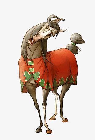 Cartoon Horse PNG