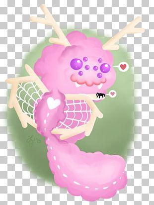Seahorse Cartoon Pink M Legendary Creature PNG