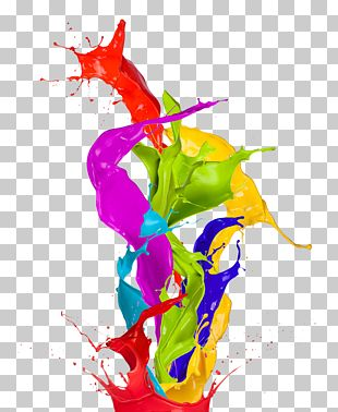 Paint Color Abstract Art PNG