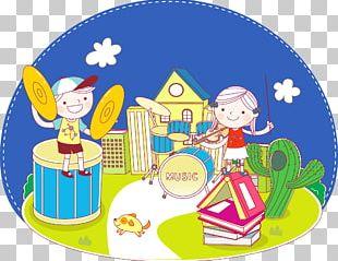 Musical Instrument Hand Drum Illustration PNG