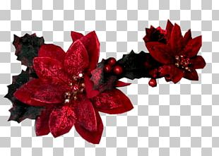 Artificial Flower Red Cut Flowers PNG