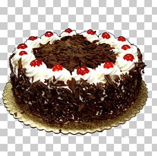 Black Forest Gateau Chocolate Cake Layer Cake Frosting & Icing Cream PNG