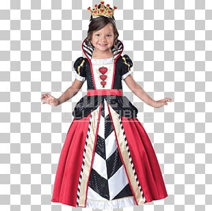 Queen Of Hearts Clothing Costume Red Queen Toddler PNG