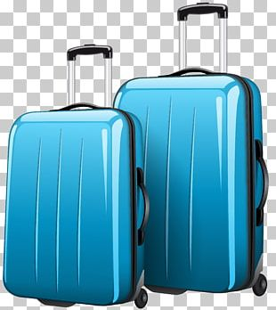 Suitcase Travel Bag PNG