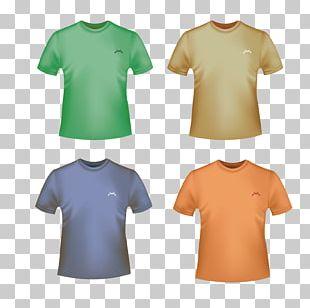 Printed T-shirt Designer Top PNG