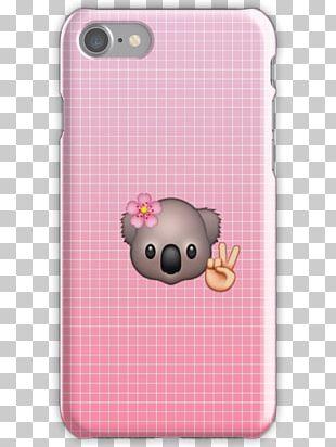 Pig Textile Snout Mobile Phone Accessories Pink M PNG