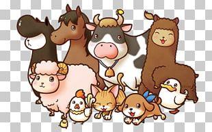 Baby Jungle Animals Farm Livestock PNG