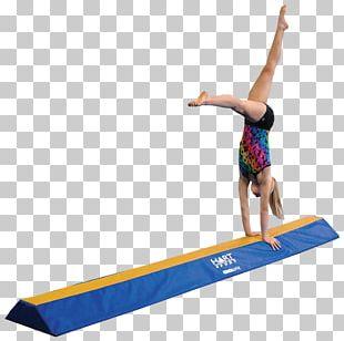Sport Balance Beam Artistic Gymnastics Mat PNG