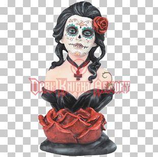 Calavera Figurine Takane Shijou Day Of The Dead Model Figure PNG
