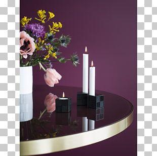 Candlestick Copenhagen Tealight Rosendahl Floral Design PNG