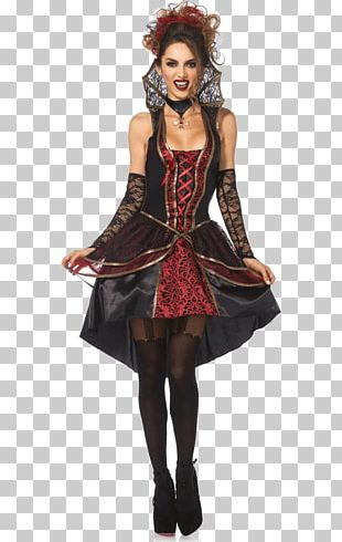 Costume Vampire Dress Clothing Lace PNG