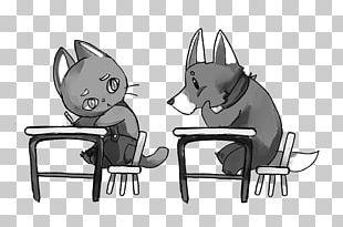 Dog Cat Sketch PNG