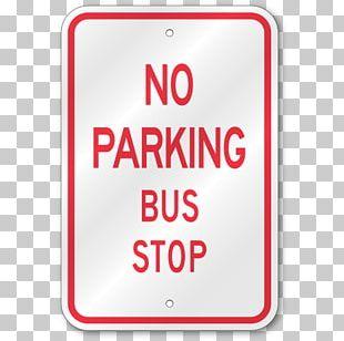 Bus Parking Car Park Stop Sign Traffic Sign PNG