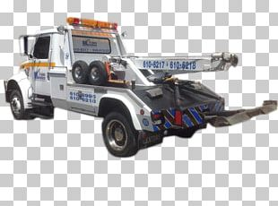 Tow Truck Car Motor Vehicle PNG