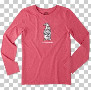 Long-sleeved T-shirt Long-sleeved T-shirt Hoodie Life Is Good Company PNG