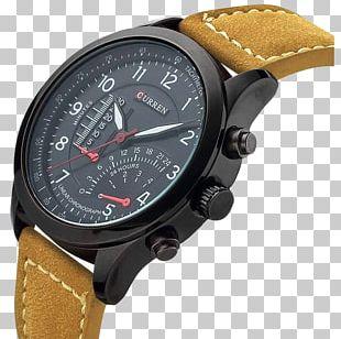 Strap Analog Watch Quartz Clock Leather PNG