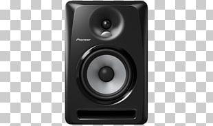 Pioneer S-DJ Series Studio Monitor Loudspeaker Enclosure Powered Speakers PNG