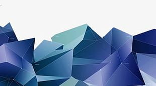 Geometric Polygon Background PNG