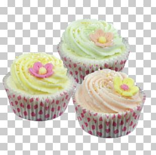 Cupcake Muffin Petit Four Frosting & Icing Buttercream PNG