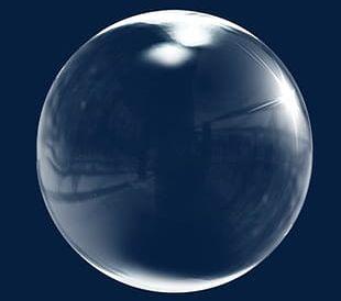 Transparent Soap Bubbles PNG