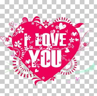 Poster Love Valentine's Day PNG