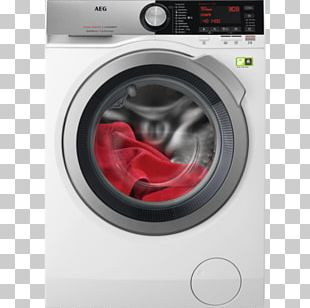 Washing Machines Clothes Dryer Home Appliance AEG Combo Washer Dryer PNG