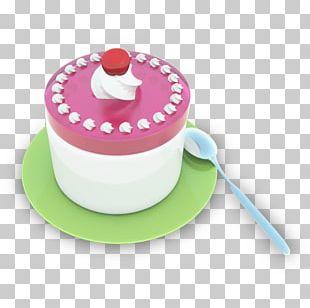 Cake Magenta PNG