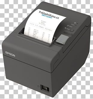 Point Of Sale Thermal Printing Printer Epson Ethernet PNG