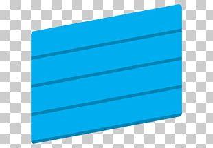 Mather's Improvement Service Aqua Turquoise Blue House PNG