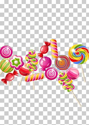 Lollipop Candy Cane Taffy PNG