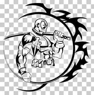 Deadpool Tattoo Drawing Marvel Comics PNG