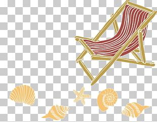 Beach Oil Painting Chair Sea PNG