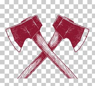 Hand Axe Red PNG