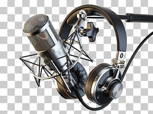 Microphone Headphones Audio Recording Studio Sound Recording And Reproduction PNG