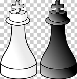 Chess Piece Xiangqi King White And Black In Chess PNG
