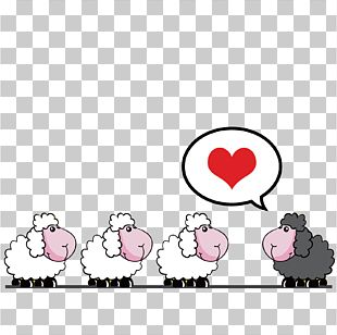 Sheep Paper PNG