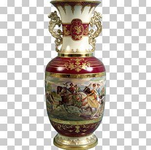 Vase Artifact Urn Porcelain PNG