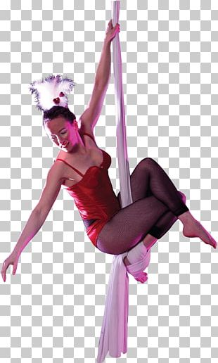 Circus Silk Artist PNG