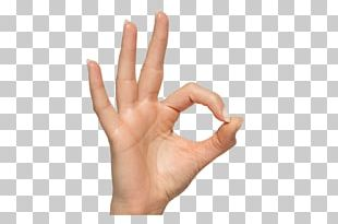 Gesture Hand OK PNG