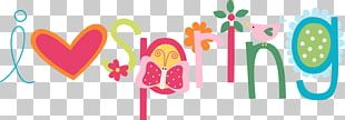 Spring English Illustrator Art PNG