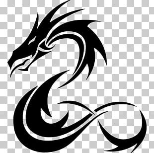 Tattoo Artist Black-and-gray Chinese Dragon PNG